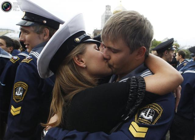 la capitaine du jour : kissing thau